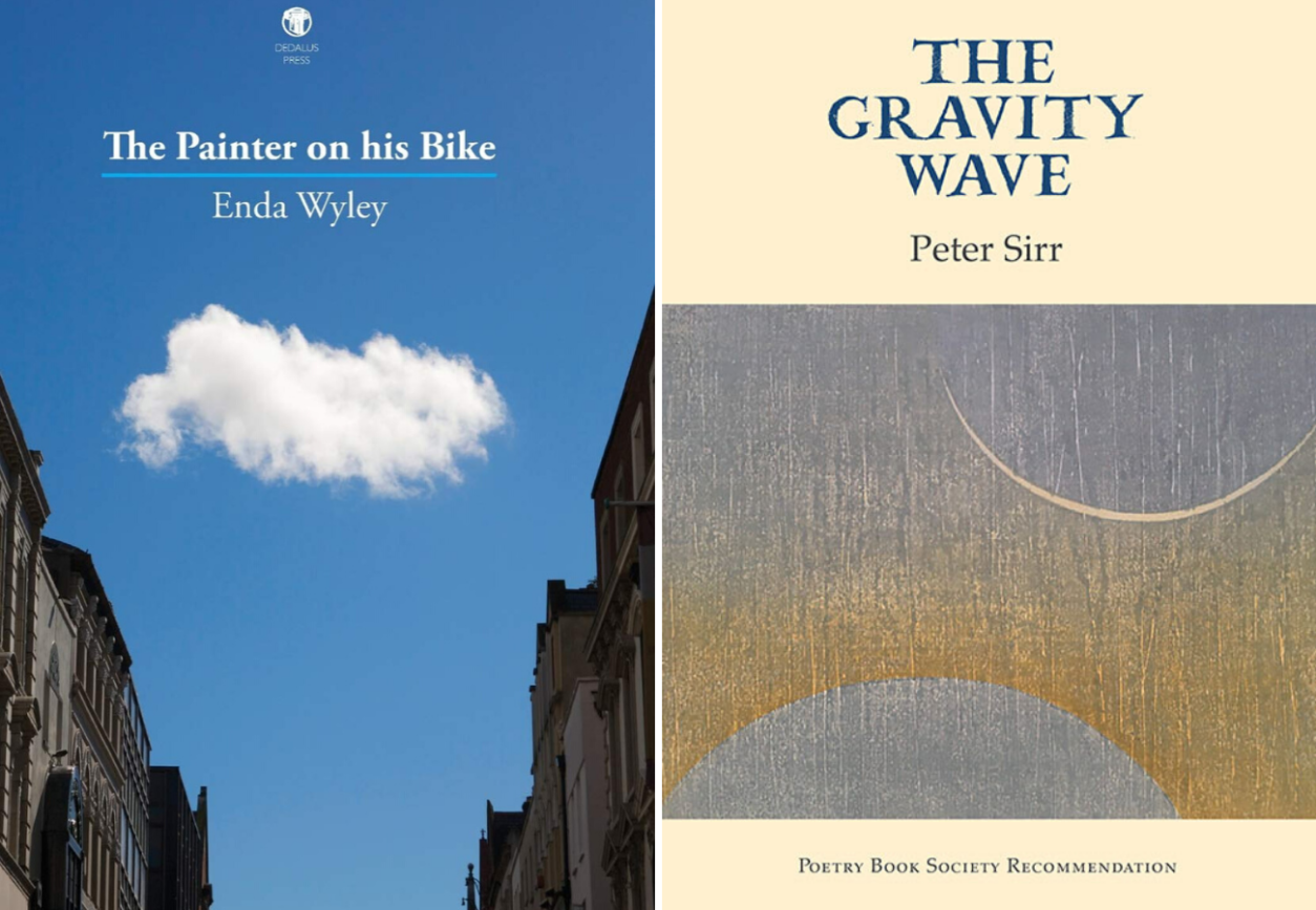 The Painter on his Bike Enda Wyley The Gravity Wave Peter Sirr