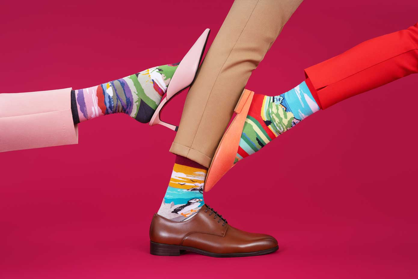 Jump Feet First Into Your Staycation With Irish Landmark Socks