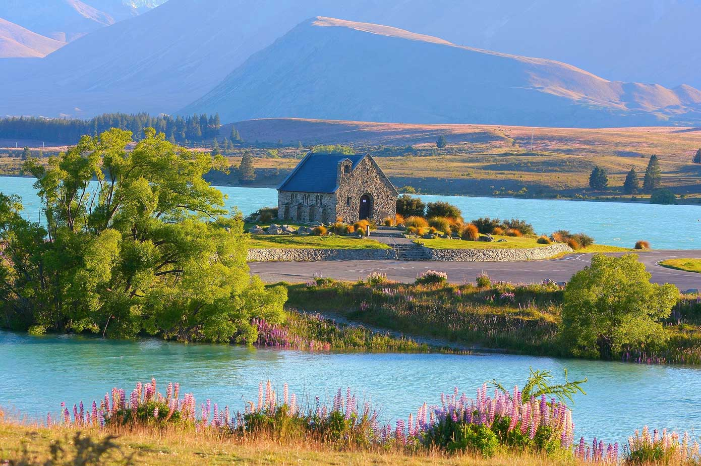This Wonderful Little Place … Lake Tekapo, New Zealand