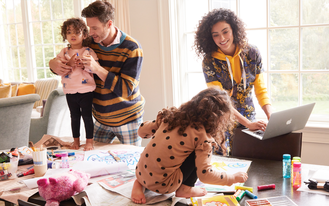 Organised Chaos: Family Time at Home