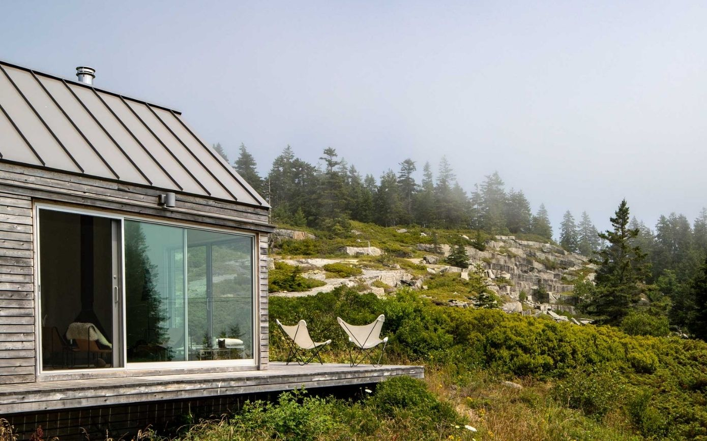 See Inside This Secluded Mountain Cottage off the Coast of Maine